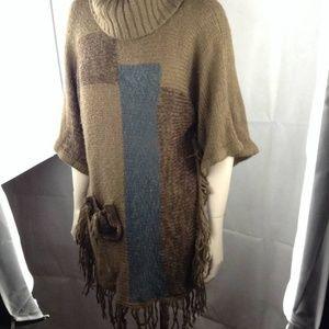 ANTHROPOLIGIE SOLITAIRE  Sweater/Tunic , L/XL